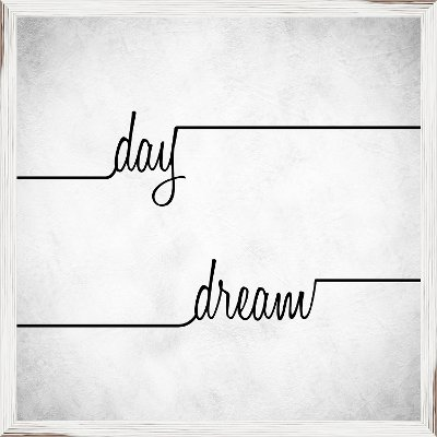 Day Dream Elegant Framed Wall Art