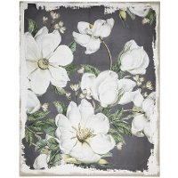 Magnolia Blooms Canvas Wall Art