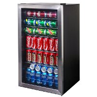 AB-1200 Stainless Steel 126 Can Beverage Cooler