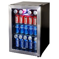 AB-850 Stainless Steel 84 Can Beverage Cooler