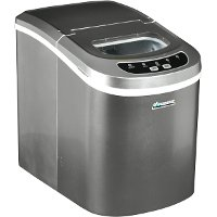 AB-ICE26S Silver 26 lb. Portable Ice Maker