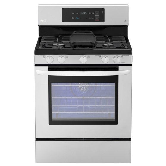 LRG3193ST LG Gas Range with EvenJet Fan - 5.4 cu. ft. Stainless Steel