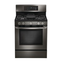 LRG3193BD LG 5.4 cu. ft. Gas Range with Self-Cleaning Convection Oven - Black Stainless Steel