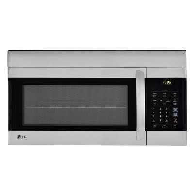 Lmv1762st Lg 1 7 Cu Ft Over The Range Microwave Oven With Easyclean Interior