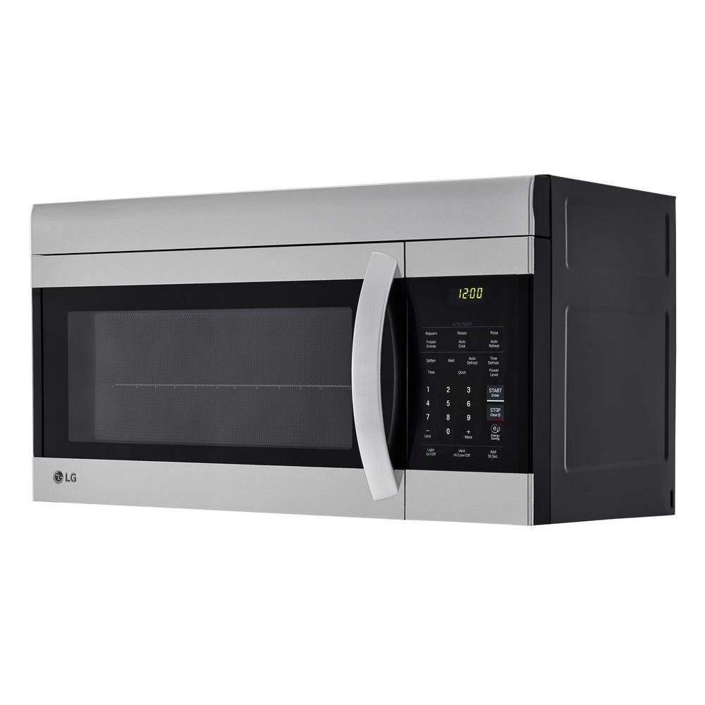 Over The Range Microwave Oven With Easyclean Interior Stainless Steel Rc Willey Furniture