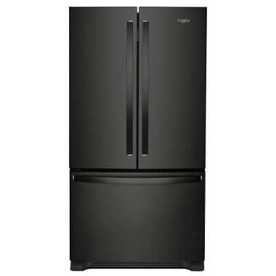 Wrf535swhb Whirlpool 36 Inch French Door Refrigerator With Internal Water Dispenser Black