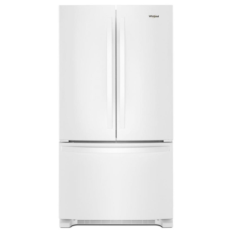 Whirlpool French Door Refrigerator 36 Inch With Internal Water Dispenser White