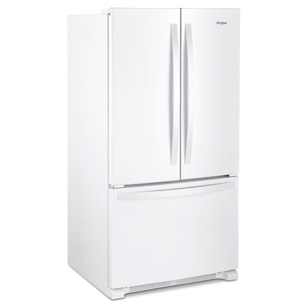 Whirlpool French Door Refrigerator   36 Inch With Internal Water Dispenser  White | RC Willey Furniture Store