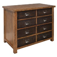 Hickory Brown 2 Drawer Lateral File Cabinet - Heritage