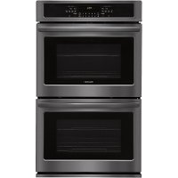 FFET3026TD Frigidaire 30 Inch Double Wall Oven - 9.2 cu. ft. Black Stainless Steel