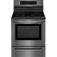 FFIF3054TD Frigidaire Induction Range - 5.3 cu. ft. Black Stainless Steel