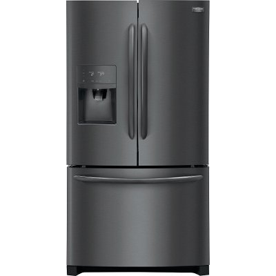 FGHB2868TD Frigidaire Gallery 26.8 cu. ft. French Door Refrigerator - 36 Inch Black Stainless Steel