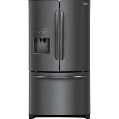 FGHD2368TD Frigidaire Gallery Counter Depth French Door Refrigerator - 21.7 cu. ft., 36 inch Black Stainless Steel
