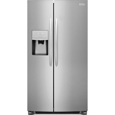 FGSS2635TF Frigidaire Gallery 25.5 Cu. Ft. Side-by-Side Refrigerator - 36 Inch Stainless Steel