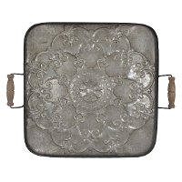 Ravello Square Tray with Handles