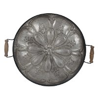 Ravello Round Tray with Handles