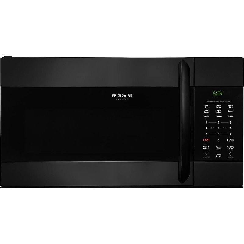 Fgmv176ntb Frigidaire Gallery Over The Range Microwave 1 7 Cu Ft Black