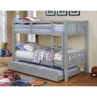 IDF-TR452-GY Gray Pull-out Trundle - Lexington