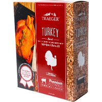 PEL327 Traeger Grill Turkey Pellet Blend with Rub and Brine Kit