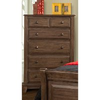 Classic Walnut Brown Chest of Drawers - Hemingway