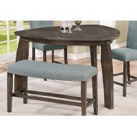 Gray Tri Counter Height Dining Table - Hollis