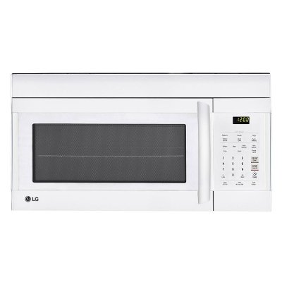 Lmv1762sw Lg 1 7 Cu Ft Over The Range Microwave Oven White