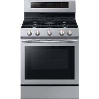 NX58M6630SS Samsung 5.8 cu. ft. Slide-in Gas Range - Stainless Steel