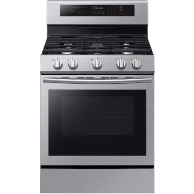 NX58M6630SS Samsung Gas Range with True Convection Oven - 5.8 cu. ft. Stainless Steel
