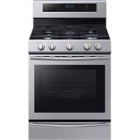 NX58M6650WS Samsung Stainless Steel 5.8 cu. ft. Slide-in Gas Range