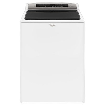 WTW7500GW Whirlpool Top Load Washer with Adaptive Wash - 4.8 cu. ft. White