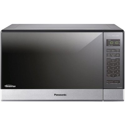 Nn Sn686sr Panasonic 1 2 Cu Ft Countertop Microwave Built In Capable With