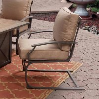 KTS60MN/SPRINGCHAIR Tan Outdoor Patio Chair - Sonoma