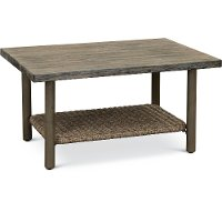 17A7407R/COCKTAIL Outdoor Wicker Coffee Table - Shadbrook