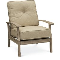 Tan Outdoor Patio Chair - Plank