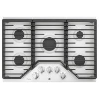 PGP7030DLWW GE Profile Series 30 Inch Built-In Gas Cooktop - White