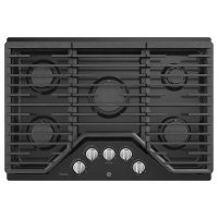 PGP7030DLBB GE Profile Series 30 Inch Built-In Gas Cooktop - Black