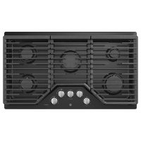 PGP7036DLBB GE Profile 36 Inch Gas Cooktop - Black