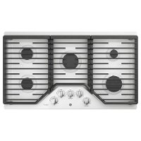 PGP7036DLWW GE Profile 36 Inch Gas Cooktop with MAX Burner System - White