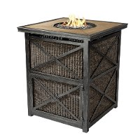 Bar Height Outdoor Patio Fire Pit - Franklin