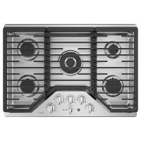 PGP9030SLSS GE Profile 30 Inch 5 Burner Gas Cooktop - Stainless Steel
