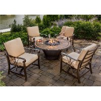 5 Piece Fire Pit Chat Group - Huntington