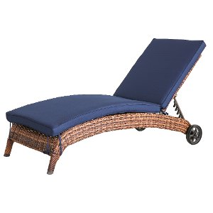 Great ... WL 6204A W4/NAVY/CS Navy Patio Chaise Outdoor Lounge Chair ...