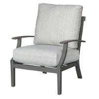 16C103A/LINMIX/CH Gray Outdoor Patio Chair - Cancun
