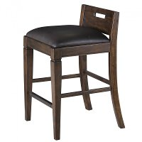 Rustic Counter Height Office Chair - Pine Hill