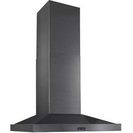 Ew5436bls Broan Chimney Range Hood 36 Inch Black Stainless Steel