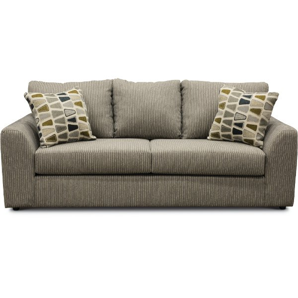 Casual Contemporary Gray Sofa   Hannah U2026