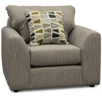 Casual Contemporary Gray Chair - Hannah