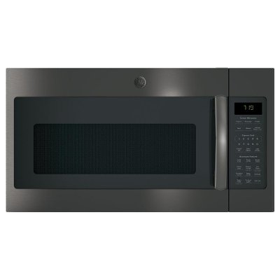 JVM7195BLTS GE Over the Range Microwave - 1.9 Cu. Ft. Black Stainless Steel