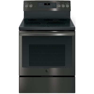 JB750BJTS GE Electric Range - 5.3 cu. ft. Black Stainless Steel