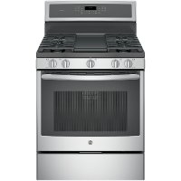 PGB911BEJTS GE Profile Series 5.6 cu. ft. Free-Standing Gas Convection Range - Stainless Steel